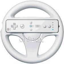 Volante Steering Wheel para Wii Color Blanco, Mario Kart a539