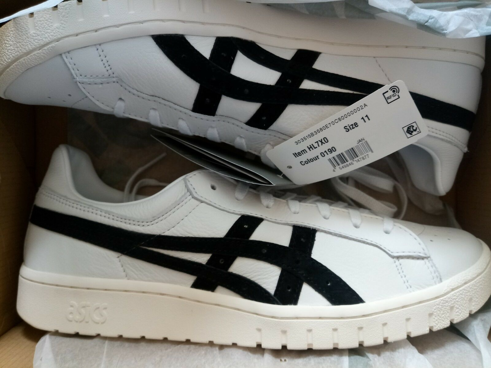 designer fashion 1a5ef 1cf07 Asics GEL-PTG (White Black) HL7X0 (3117370060190 Onitsuka ...