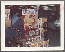 Vintage Polaroid Photo Prince Albert in Can Tobacco Smoking Store Display 743175