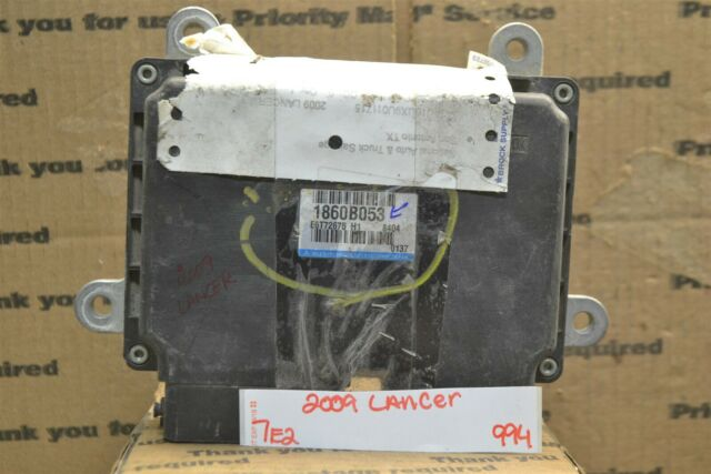 2009 Mitsubishi Lancer Engine Control Unit Ecu Module