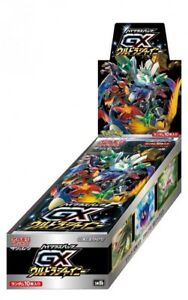 Pokemon Card Game GX Ultra Brillant Booster Box Sun & Moon high-class pack
