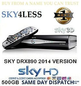 AMSTRAD-DRX890-EX-DEMO-500GB-SKY-PLUS-HD-BOX-BRAND-NEW-REMOTE-LEADS-1YR-WARRANTY