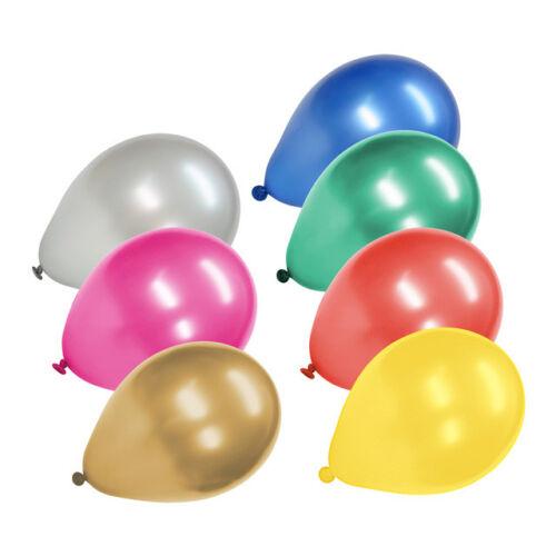 FACKELMANN15 Palloncini Assortiti Effetto Colore Metallizzato Ø22cmLattice