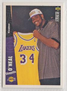 nba UPPER DECK 1996 # 270  SHAQUILLE O'NEAL BASKETBALL CARD