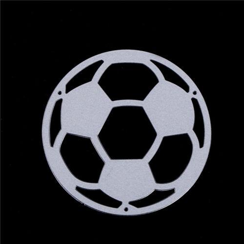 Fashion Soccer Football Metal Cutting Dies DIY Scrapbooking Photo Album Decor Jf