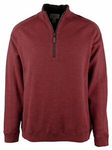 Tommy Bahama Men/'s Big /& Tall Flipsider Half-zip Sweater Sweatshirt