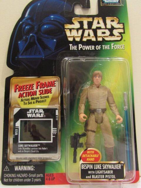 Star Wars Power of the Force Bespin Luke Skywalker 1997 Kenner New!