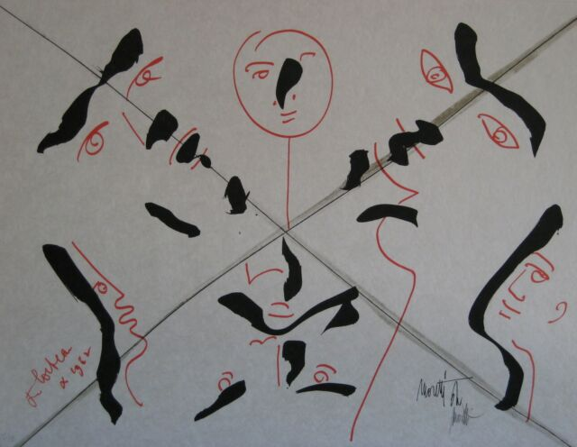 COCTEAU JEAN MORETTI RAYMOND LITHOGRAPHIE SIGNÉE NUM/XX SIGNED NUMB LITHOGRAPH