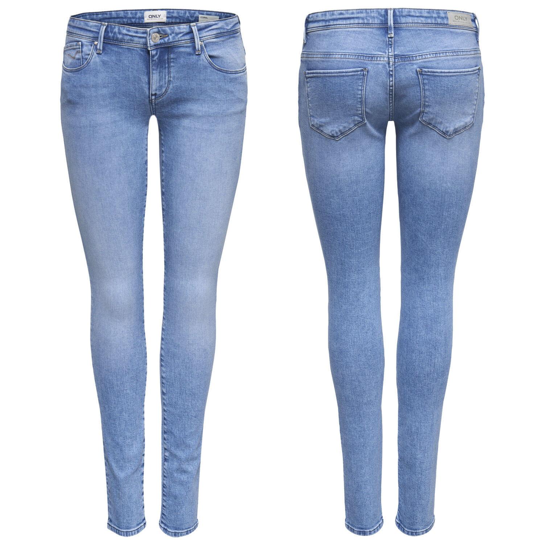 Donna Anca Jeans Pantaloni Onlcoral Sl Sk REA3269 Noos Superlow Skinny Celeste