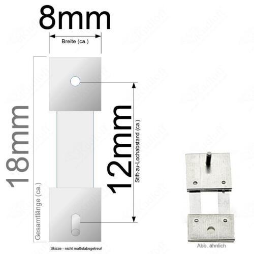 Großuhr Regulator 12mm Stiftabstand 415165 Pendelfeder für Standuhr