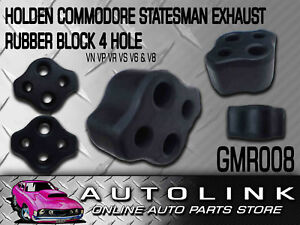 EXHAUST MOUNTING RUBBER BLOCK MOUNT SUIT HOLDEN COMMODORE VG VP VR VS UTE V6 V8