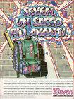 Pubblicità Advertising 1993 zaini SEVEN Un sacco più avanti