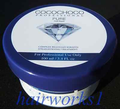 Cocochoco PURE Brazilian Keratin Hair Treatment 100ML Kit blonde damaged hair