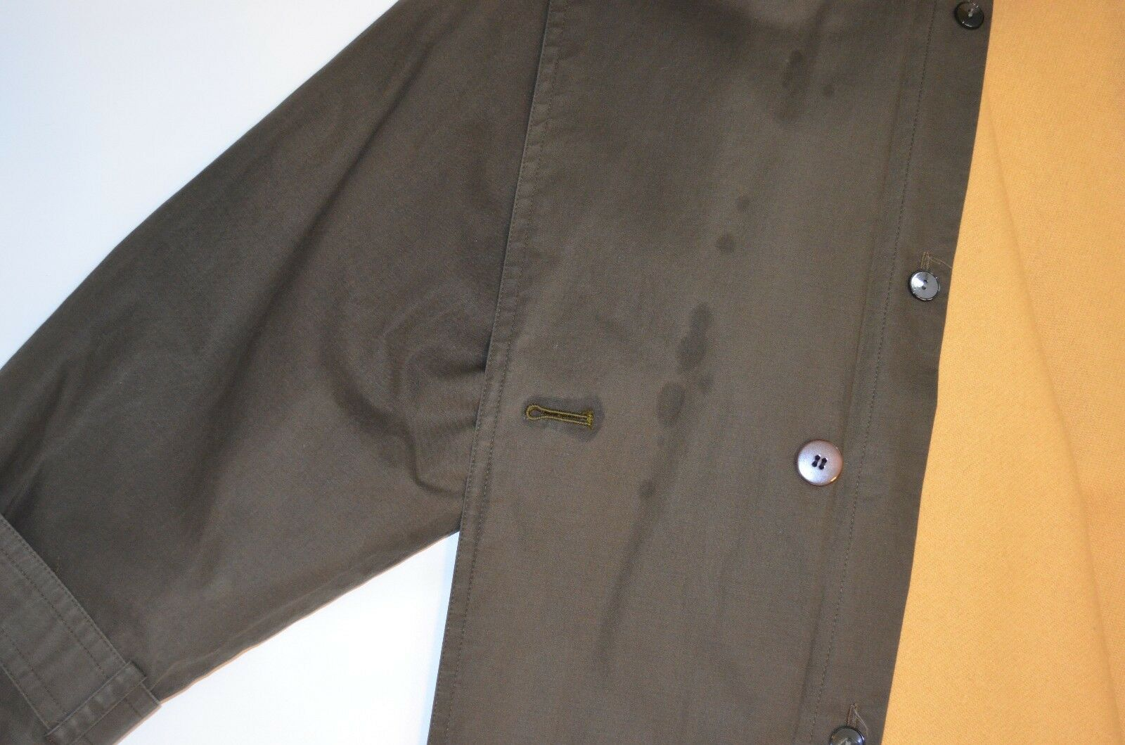 Bill Blass Trench Coat Removable Wool Lining Wome… - image 8