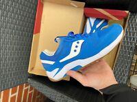 Sneakers, Saucony, str. 45, Blå, Rågummi