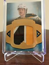 2013-14 Dougie Hamilton 71/100 Debut Threads Upper Deck Ultimate Patch