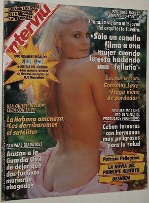 Interviu 710 Patrizia Pellegrino Claudia Schiffer Brigitte Nielsen Helmut Newton Ebay
