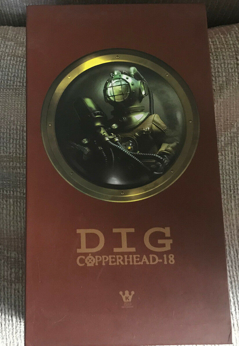 1 6 12  HOT TOYS KENNYSWORK DIVER COPPERHEAD-18 DIG NEW IN BOX