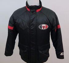 Starter NBA Basketball Authentics Chicago Bulls Black Red Winter Jacket Medium