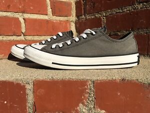 8136063a90c134 Converse Chuck Taylor All Star Charcoal Gray Ox Style 139759f Men ...
