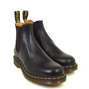 Dr-Martens-2976-YS-Chelsea-Boots-22227001-Black-Smooth-Leder-Neu