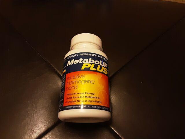 NEW - Lipozene MetaboUP Plus Diet Supplement 60 Tablets - expiration 05/2022