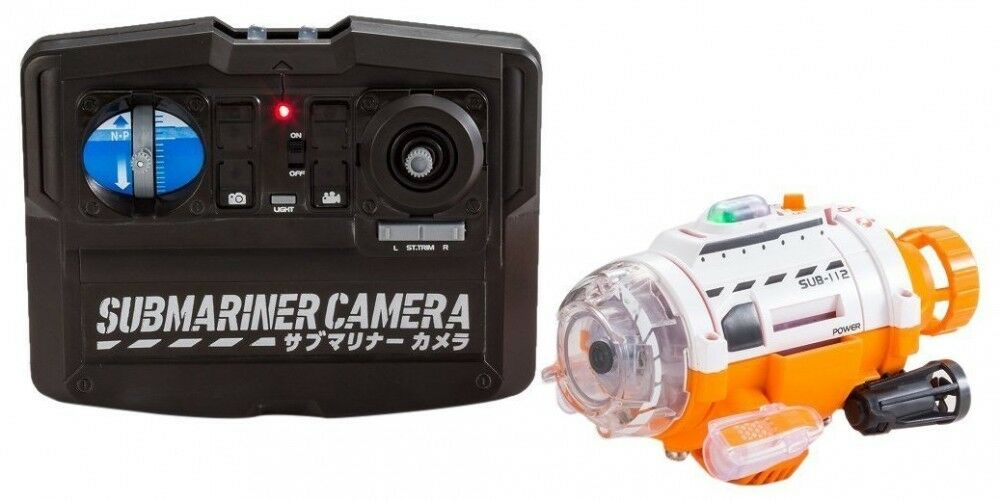 NEW Sub-Mariner camera Camera equipped submarine RC Hobby Radio control Japan