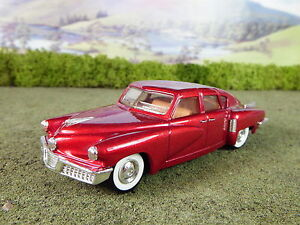 Red Matchbox Dinky 1//43 Scale DY-11 1948 Tucker Torpedo Boxed