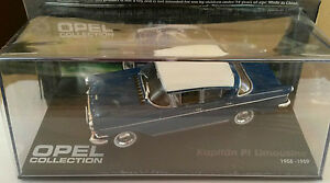 DIE-CAST-034-OPEL-KAPITAN-PI-LIMOUSINE-1958-1959-034-OPEL-COLLECTION-SCALA-1-43