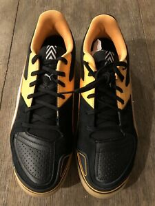 Puma-Invicto-Sala-Men-039-s-Indoor-Soccer-Or-Casual-Shoes-Size-8-New-In-Box-Black