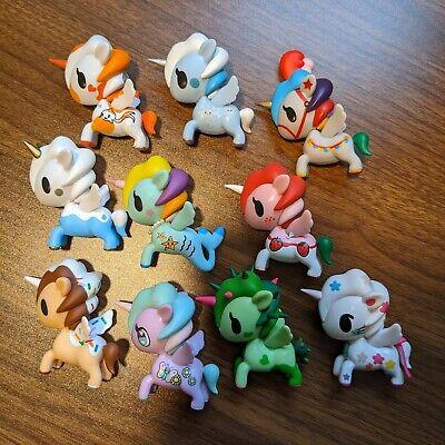 MMM Set of 8 Without Chasers Tokidoki Unicorno Series 9 Collectible Blind Box