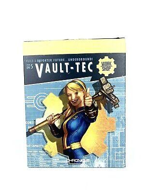 "NIB Modern Icons #7 Bethesda 9/"" Tall Fallout Vault Girl Statue Figure"