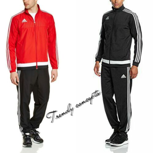 Adidas Men's Tiro 15 Presentation Suit Power RedWhiteBlackWhite All Sizes