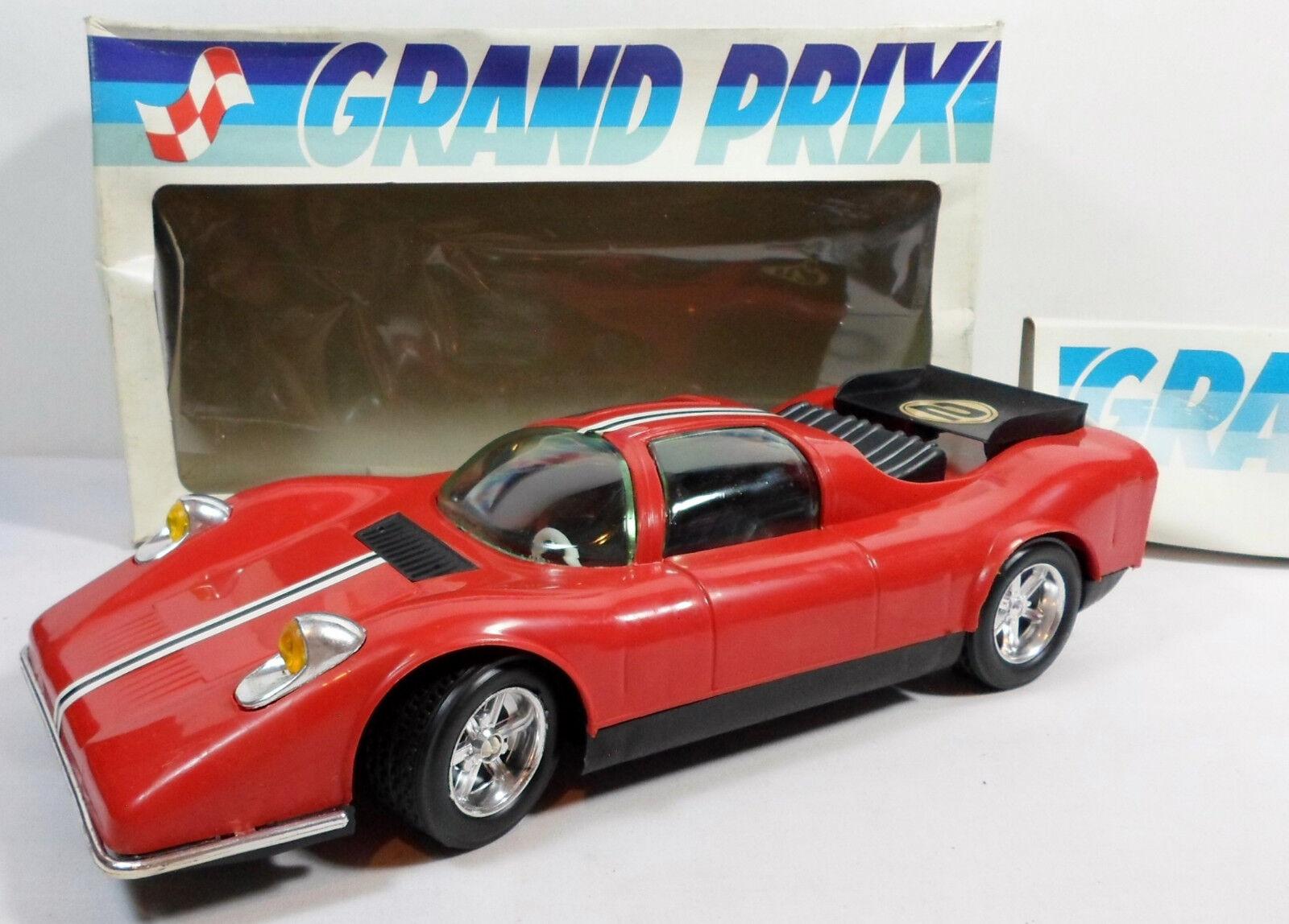 SMALTO GREEK VTG 80's B O GRAND PRIX 13'' RACING CAR  730 WIrot R C NEEDS REPAIR
