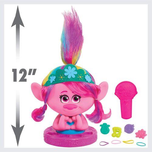 Details about  /DreamWorks Trolls World Tour Poppy 11 Piece Styling Head