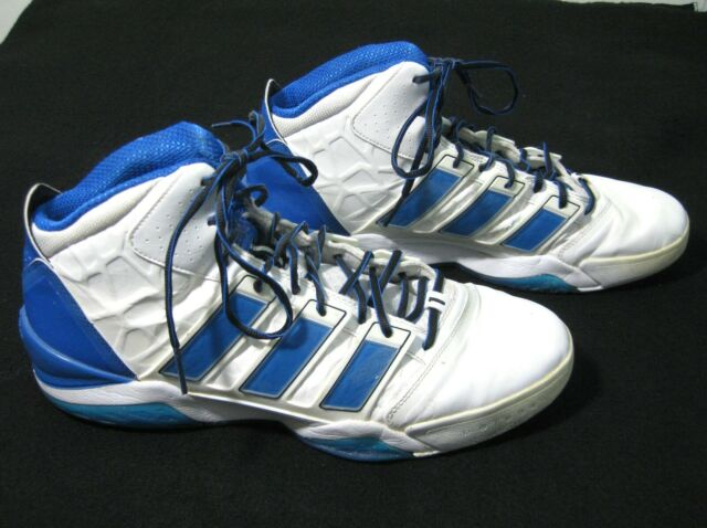 details for wide range where to buy ADIDAS Dwight Howard Mens Blue & White Basketball Shoes Size 14.5 Orlando  Magic