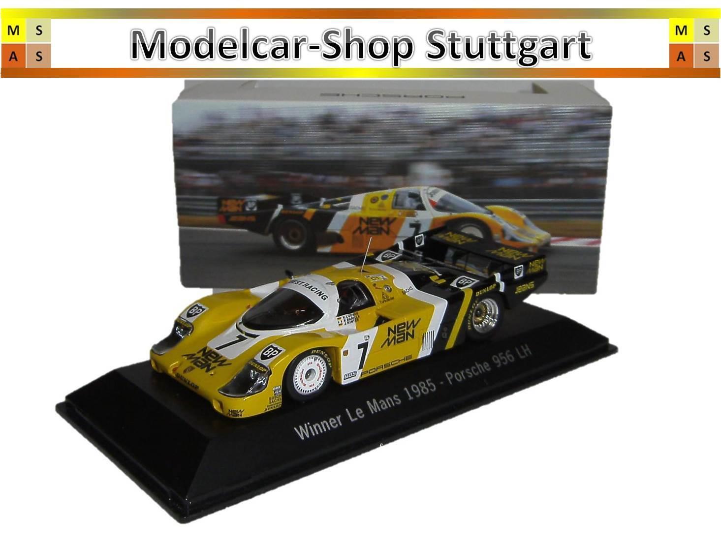 Musée  porsche  956 LH-winner 24h Le Mans 1985-spark 1 43 map02028513-NEUF  forme unique