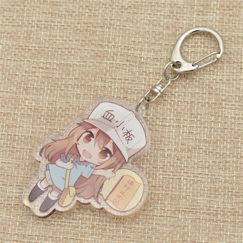 Cute Cells at Work Acrylic Keychain Lovely Anime Character Fans Collection Gift