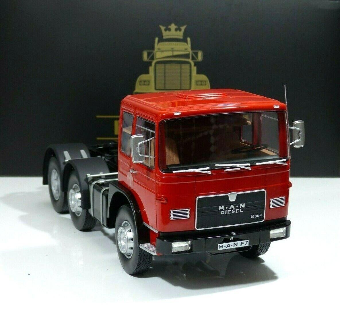 mejor calidad mejor precio Con A. N. F7 Cabeza Tractora 16.304 Bauj. 1972 rojo rojo rojo   Negro Road Kings 1 18  distribución global