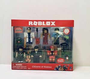 Roblox Redwood Prison Robber Minifigure No Code No Packaging Nib Roblox Action Collection Citizens Of Roblox Six Figure Pack Ebay