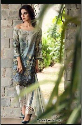 Abile Asiatico Pakistano Charizma Maria B Sana Safinaz Asim Jofa Agha Noor Khaadi Suit-mostra Il Titolo Originale Forte Resistenza Al Calore E All'Usura Dura