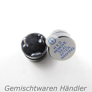 1x-Buzzer-Summer-Signalgeber-akustisch-Beeper-arduino-Piepser-Alarm-Ton-Dauer