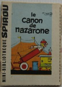 MINI-CONTO-IL-CANON-DE-NAZARONE-supplemento-SPIROU-N-1269-Anno-1962