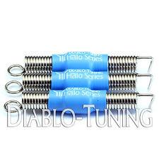 Set of 3 Blue SILENT / Noiseless Premium guitar Tremolo Springs - Halo Series
