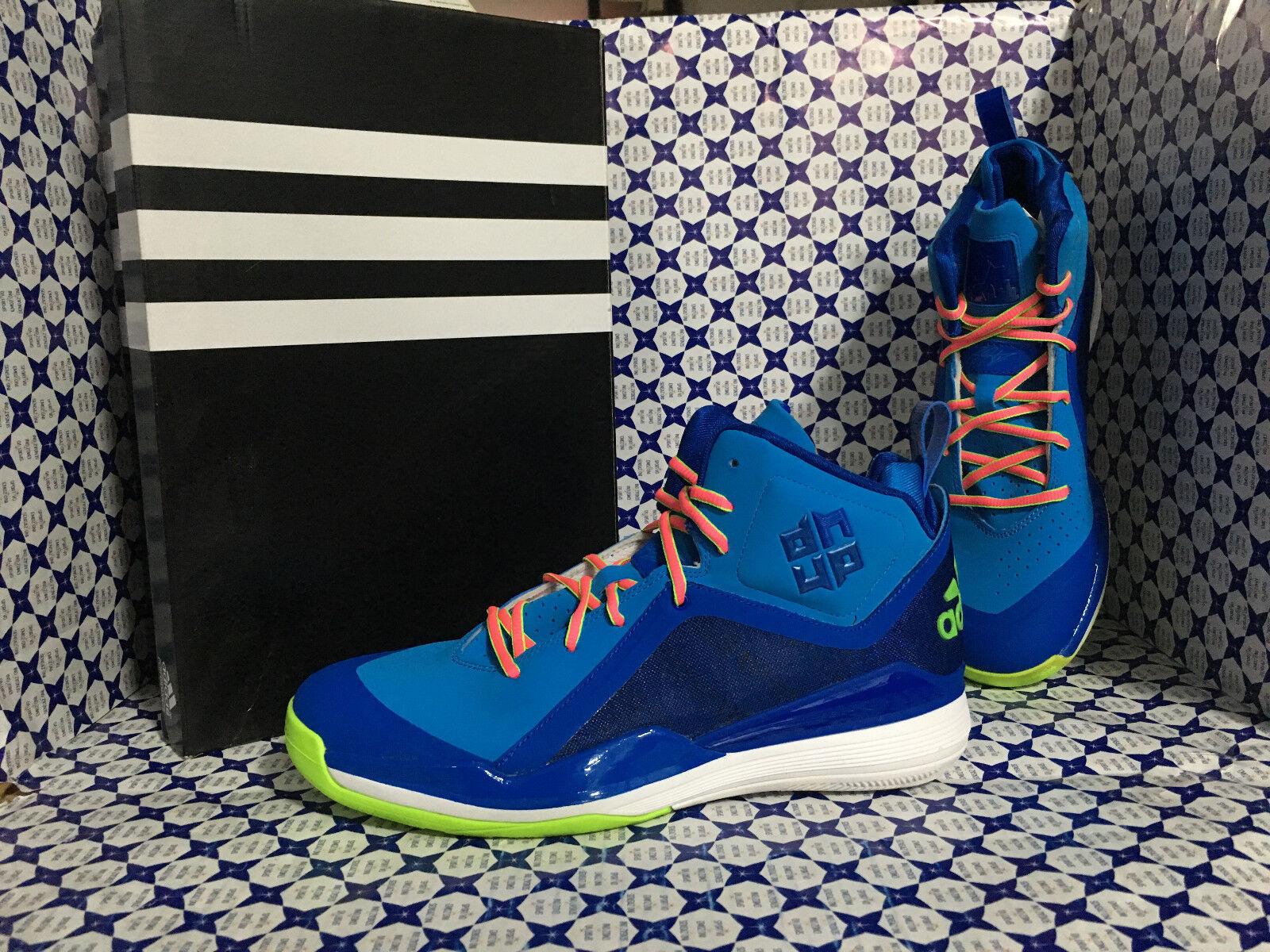 Scarpe Adidas Basket Uomo - D Howard 5 SCONTATE - Azzurro Verde - D73948 Scarpe classiche da uomo