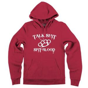 Mens-Talk-S-t-Spit-Blood-Hoodie-Gangster-Rap-Music-Movie-Sweatshirt