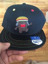 NWT Original Snapback Adjustable Domo Rasta Hat Cap Osfa