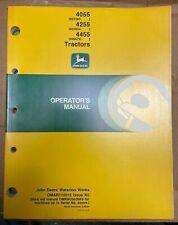 John Deere 4055 4255 4455 Tractors Operator Manual Omar110015 K0 T 6