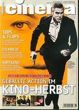 CINEMA  Heft 387  08_2010  Europas größte Filmzeitschrift  George Clooney