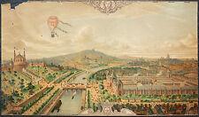 CHROMOLITHOGRAPHIE CHOCOLAT LOMBART VUE DE PARIS EXPOSITION UNIVERSELLE 1878
